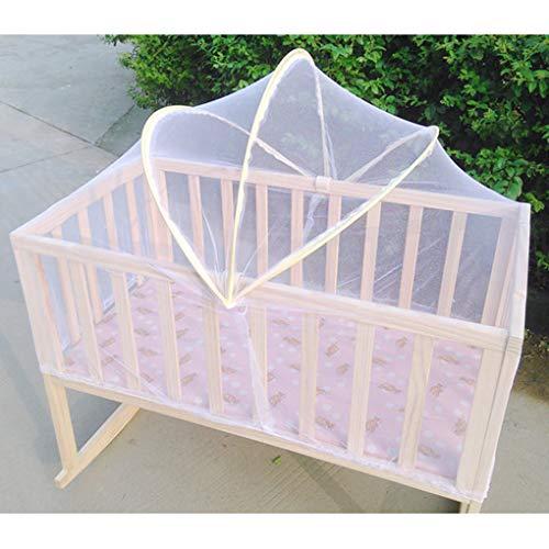 ZEHNHASE Mosquitera Cama Beb/és Cobertor para mosquitera Yurta Carpa emergente de Seguridad para Cuna para beb/é 140 * 130 * 69cm Protecci/ón contra Insectos Voladores y Mosquito