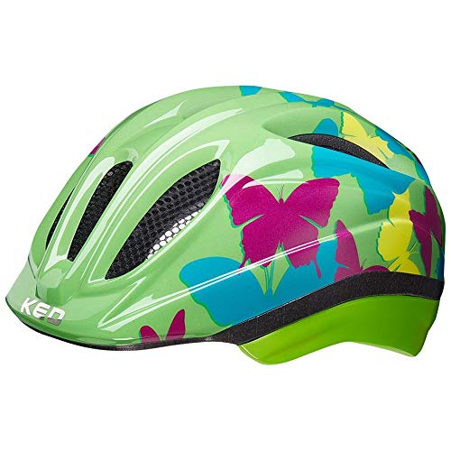KED Meggy II Trend Helm Kinder Butterfly/Green Kopfumfang XS   44-49cm 2020 Fahrradhelm