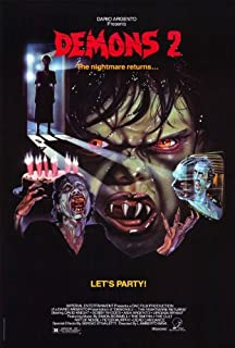 Demons 2: The Nightmare Returns POSTER Movie (27 x 40 Inches - 69cm x 102cm) (1986)