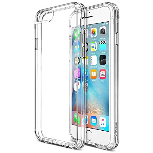 ivoler Funda Carcasa Gel Transparente para iPhone 6S Plus/iPhone 6 Plus 5.5 Pulgadas, Ultra Fina 0,33mm, Silicona TPU de Alta Resistencia y Flexibilidad