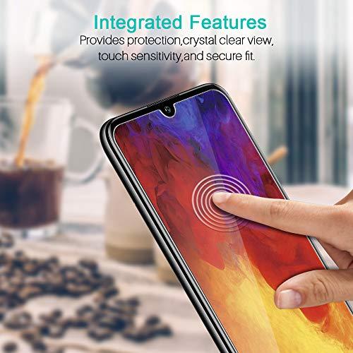 LK [3 Stück Schutzfolie für Huawei Y6 2019 / Honor 8A, Huawei Y6 2019 / Honor 8A Panzerglasfolie, [Bubble Free] HD Klar Gehärtetem Glas Displayschutz