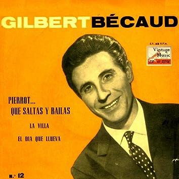 """Vintage French Song Nº 38 - EPs Collectors """"Il Fait Des Bonds… Le Pierrot Qui Danse"""""""
