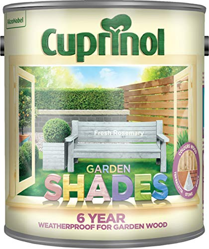 Cuprinol CUPGSFR25L 2.5 Litre Garden Shades Paint - Fresh Rosemary