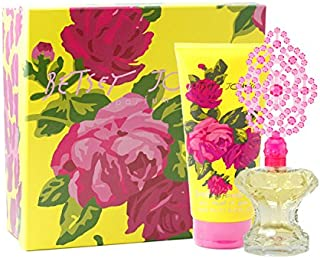 BETSEY JOHNSON by Betsey Johnson Gift Set for WOMEN: EAU DE PARFUM SPRAY 3.4 OZ & SHOWER GEL 6.7 OZ