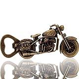 Wohlstand Apribottiglie per Moto Apribottiglie per Motociclette in Metallo Apribottiglie a Forma di Moto Apribottiglie da Birra in Lega di Zinco per Bar Party Gioco da Bere Regali per Uomini