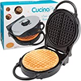 Best Non Belgian Waffle Makers - Waffle Maker- Non-stick American Waffler Iron with Adjustable Review