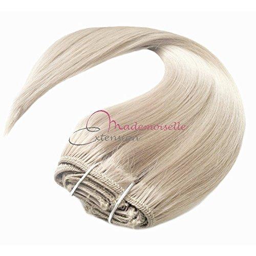 Extension a Clip Blond platine - Fibre professionnelle