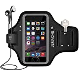 iPhone 6 7 8 SE Armband, JEMACHE Fingerprint Touch Supported Gym Running Workout/Exercise
