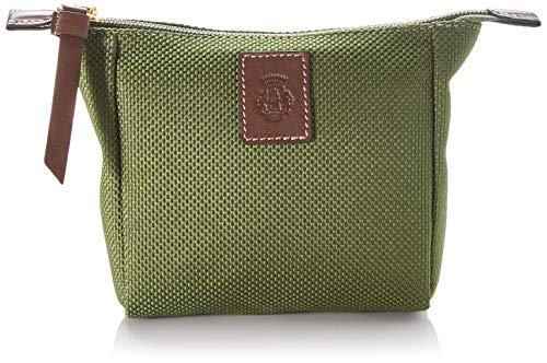 Roeckl Unisex-Erwachsene Bottle Bag Kosmetiktasche Mini Stofftasche, Grün (jungle), 5x12x19 cm