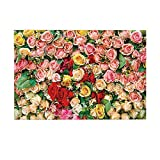 fdsdatrfet Rot gelb grün Blatt Blume Multi Muster umweltfreundlich Badezimmer Dekoration pad...