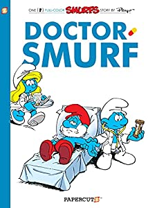 The Smurfs Graphic Novels 20巻 表紙画像