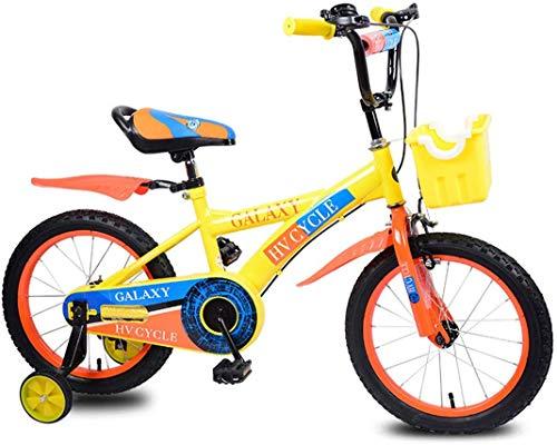FEE-ZC kinderfiets 16 inch met wieltjes voor 5-8 jaar jongens & meisjes