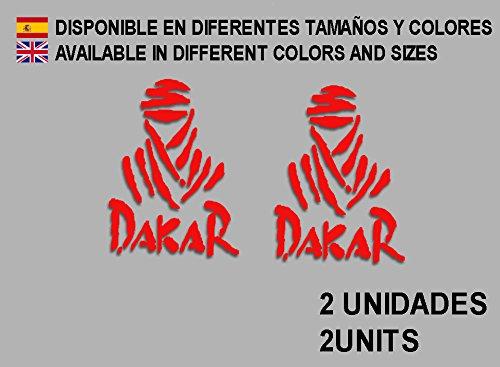 Sticker voor Dakar F68, vinyl