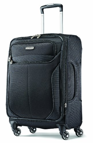 Samsonite Liftwo Spinner 21 Luggage, Black, One Size