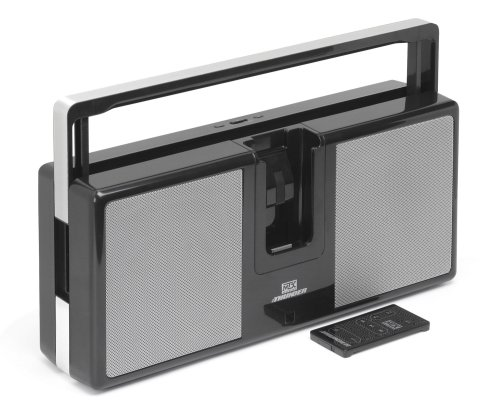 MTX Audio iThunder Portable iPod Boombox (Black)