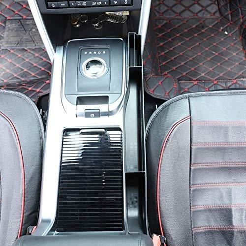 Topauto Top-Auto Palstic Consola Central Lado Derecho Multifunción Caja de Almacenamiento Bandeja para Discovery Sport 2015 2016 2017 2018 Negro