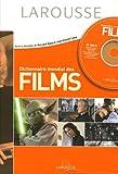 Dictionnaire mondial des films (1Cédérom) - Larousse - 13/10/2005