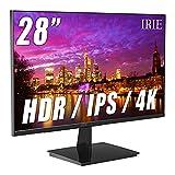 FFF 28インチ 4K Ultra HD モニター ワイド ディスプレイ IPS液晶パネル 薄型 HDMI IRIE(アイリー) FFF-LD28P1