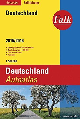 Falk Autoatlas Falkfaltung Deutschland 2015/2016 1:500 000 (Falk Atlanten)