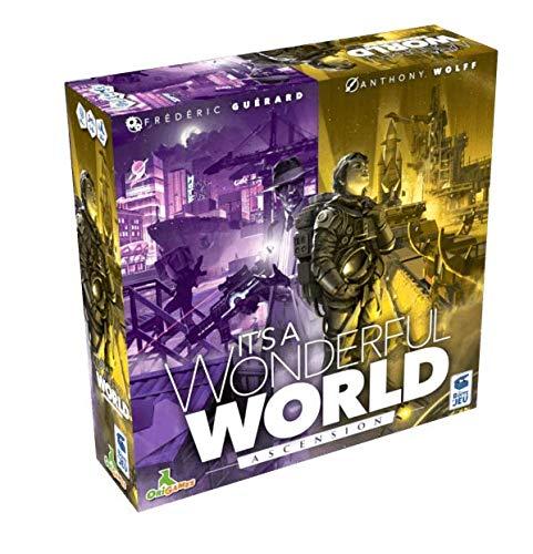 Blackrock Games - It's a Wonderful World: Corruption & Ascension Expansion - Brettspiel