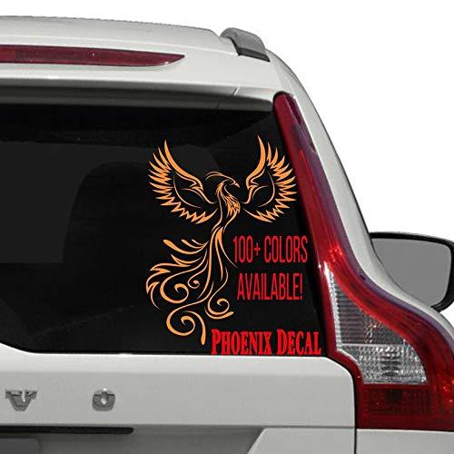 Phoenix Vogel Auto Decal voor Vrouwen en Meisjes, Phoenix Window Decal, Yeti Mok Decal, Laptop Sticker Jager Meisje Sticker Vogelsticker Auto Decal