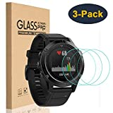 HEYUS [3 Pack] Tempered Glass Screen Protector 9H Hardness Protective Glass for Garmin