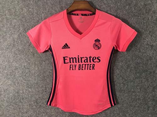 Camisa Real Madrid Feminina Rosa 2020/21