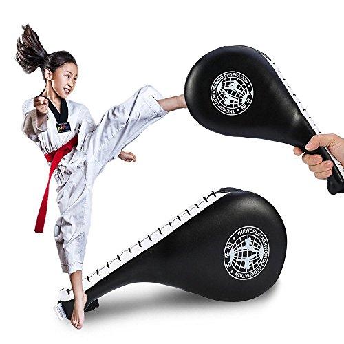 Yosoo Taekwondo-Schlagpolster für Karate, Taekwondo, Kickboxen, doppelte Schicht