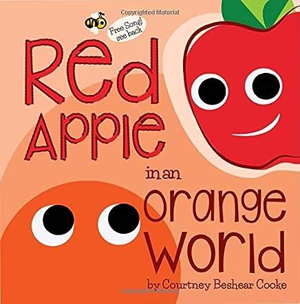 Red Apple in an Orange World