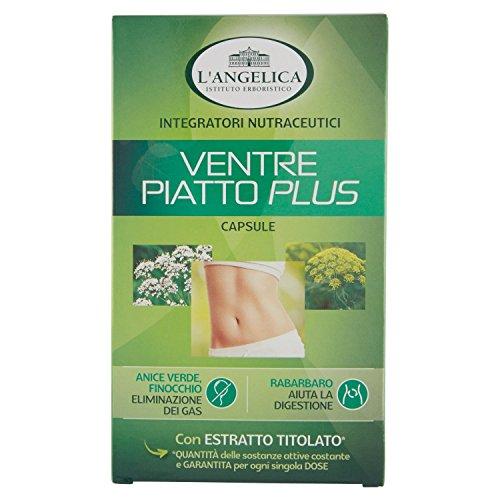 L'Angelica Ventre Piatto Plus, Pacco da 40, Totale: 22,9 gr - [pacco da 3]