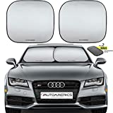 Best Car Sunshades - Autoamerics Windshield Sun Shade - 2 Pieces of Review