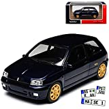 Norev Renault Clio Williams I 1. Generation 3 Türer Blau 1990-1998 Jet Car 1/43 Modell Auto