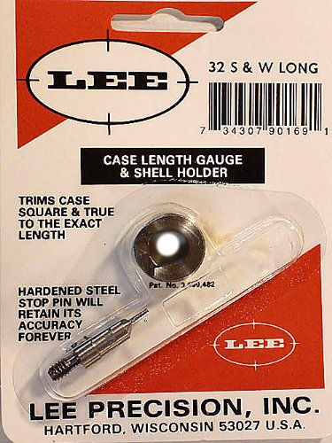 Lee Precision 90169 Jauge de avec Shell Holder Calibre 32 Lo, Multicolore, Taille Unique