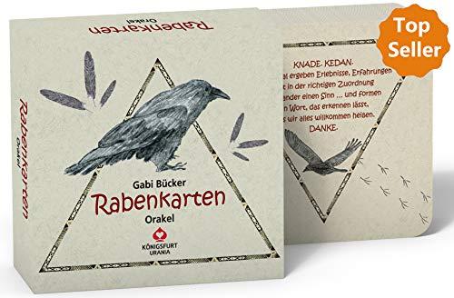 Rabenkarten: Das Rabenorakel. 49 Karten mit Anleitung