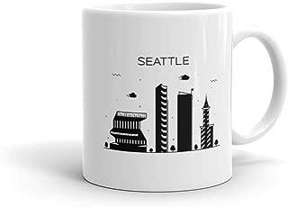 Funny Humor Novelty Seattle Washington State Pride 11 oz Ceramic Coffee Tea Cug Mug