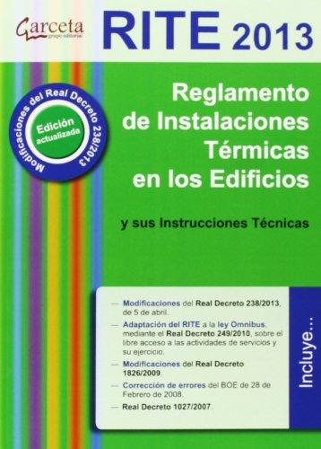 Reglamento de Instalaciones Térmicas en edificios. RITE 2013 (Reglamentos (garceta))