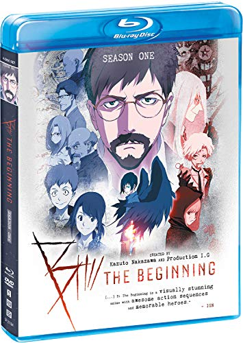 B: The Beginning - Season One Blu-ray + DVD - BD Combo Pack
