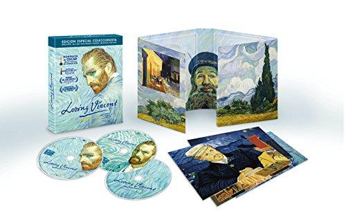 Loving Vincent - Edición Especial Coleccionista [DVD + Blu-ray + Banda Sonora + Postales] [Blu-ray]