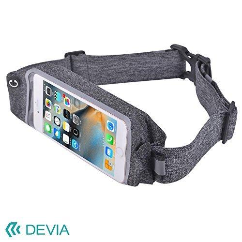 スマートフォン用ウェストバッグ(ポーチ)防水素材イヤホンジャック付き/Devia Easygo Waist BagBLDVAC0024