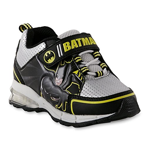 DC Comics Toddler Boys' Batman Sneaker, Light-Up