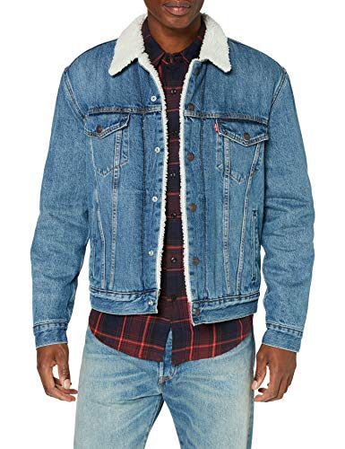 Levi's Herren Type 3 Jacket, Fable Sherpa Trucker, X-Large