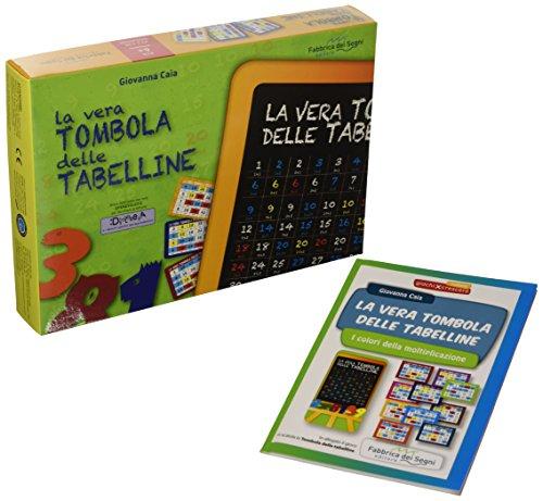 La vera tombola delle tabelline. I colori della moltiplicazione. Ediz. illustrata. Con gadget