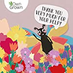 Butterfly Garden, Premium Butterfly Seed Flower Mix, Butterfly friendly Wildflower Seeds for 50 sqm by OwnGrown