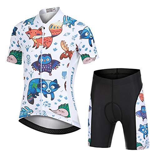 YFPICO - Radsport-Anzüge für Jungen in Tiere(Set), Größe 146