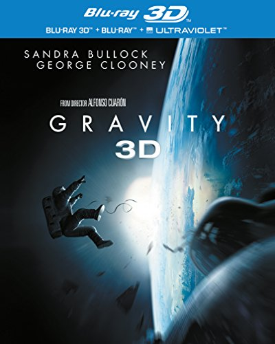 Gravity [Blu-Ray]+[Blu-Ray 3D] [Region Free] (Deutsche Untertitel)