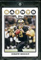 2008 Topps # 1 Drew Brees - New Orleans Saints - NFL Trading Cards