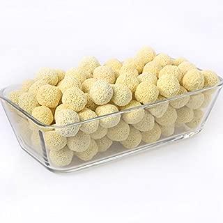 SNNplapla 100pcs Aquarium Porous Bio Balls--Fish Tank Filter Media
