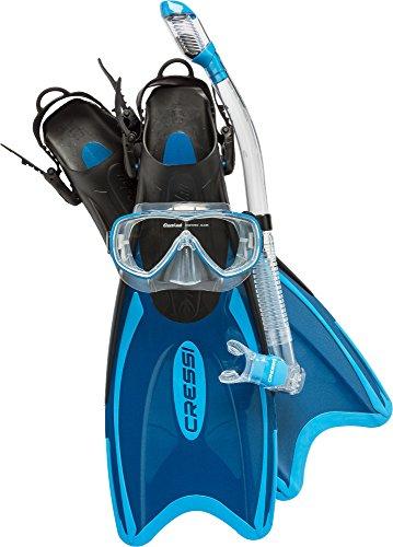 Cressi Palau LAF Set, blue, S/M