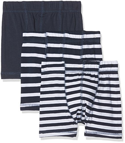 NAME IT NAME IT Baby Jungen NMMTIGHTS 3P NOOS Boxershorts, Mehrfarbig (Dress Blues), 104 (3er Pack)