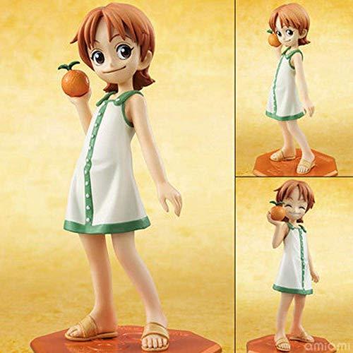 UNA Pieza Infancia Zoro Nami Nojiko Rebecca Personaje Animado 12,5 CM Modelo Muebles Figura de acción de la Estatua Regalo de colección D-12,5 CM Peng (Color : B, Size : 12.5CM)